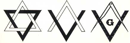 Freemasonry Compass Is A Hexagram