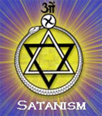 Satanism Six-sided star = Hexagram