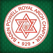 Freemasons Baden Powell Royal Arch Chapter uses the Star of David