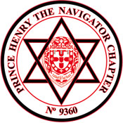 Freemasonry Prince Henry the Navigator Chapter uses the Star of David Hexagram