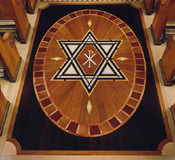St. Cantius Catholic Church Hexagram