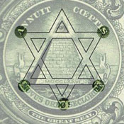 Hexagram on the Dollar Bill