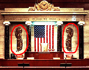 Roman Fasces In The U.S. Senate
