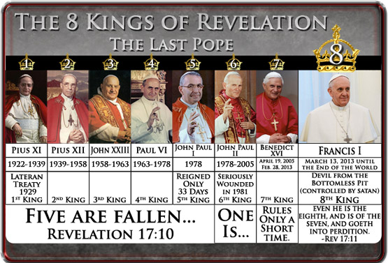 7 kings of Revelation 7