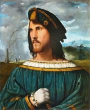 Cesare Borgia, illegitimate son of Pope Alexander VI
