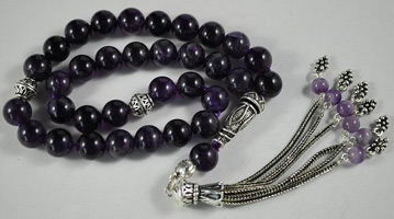 Roman Catholicism and Islam both use prayer beads.