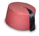 Ottoman Empire Fez Hats