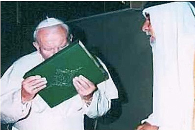 Popes helped write the Qur'an